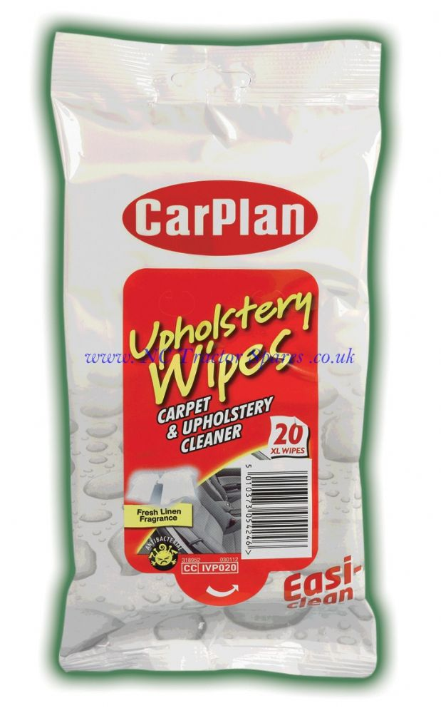 Carplan Upholstery Wipes 20